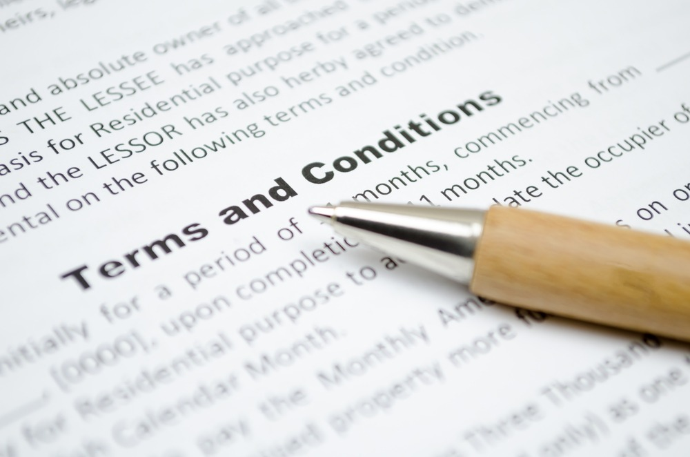 Five Reasons why terms & conditions are critically important for your business